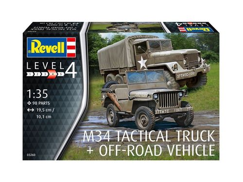 M34 Tactical Truck + Off-Road Vehicle 1/35