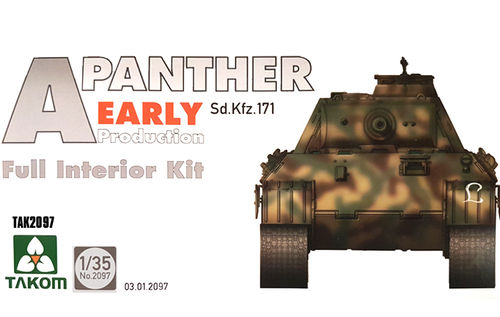 Panther Ausf. A early prod. full Interior  1/35