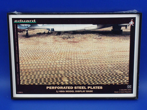 PSP Display - Perforated steel plates 1/48