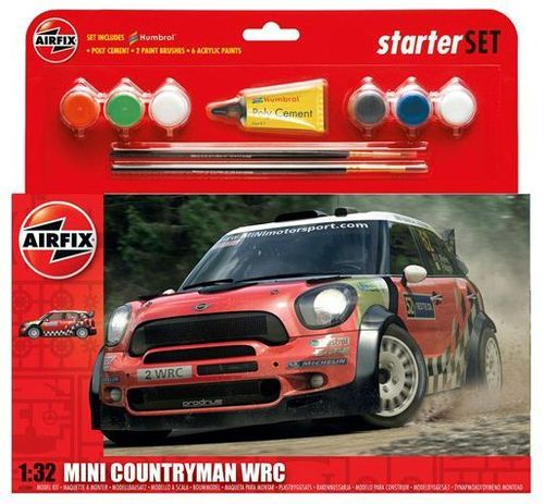 GIFT SET MINI COUNTRYMAN WRC 1:32