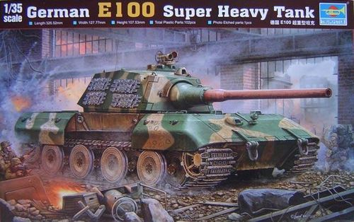 E100 Super Heavy Tank   1/35