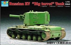 RUSSIAN KV BIG TURRET1/72