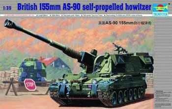 British 155MM AS-90 Howitser 1/35