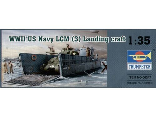 WWII US NAVY LCM 3 1/35