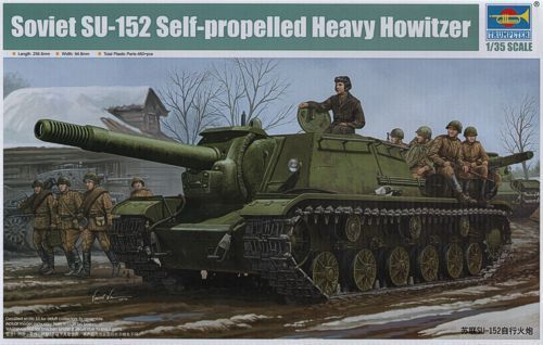 SU-152 Self Proppeled Howitser 1/35