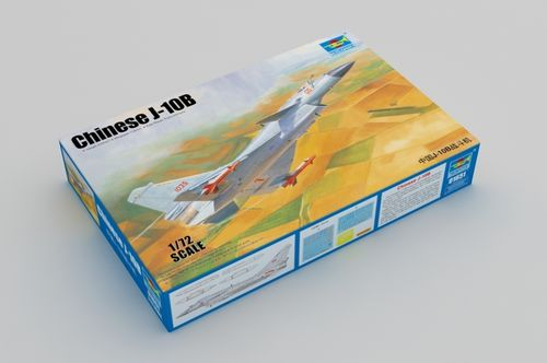 Chinese J-10B Fighter 1/72