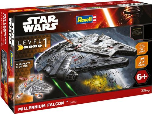 StarWars Build n Play  Millennium Falcon  Scale: 1/164