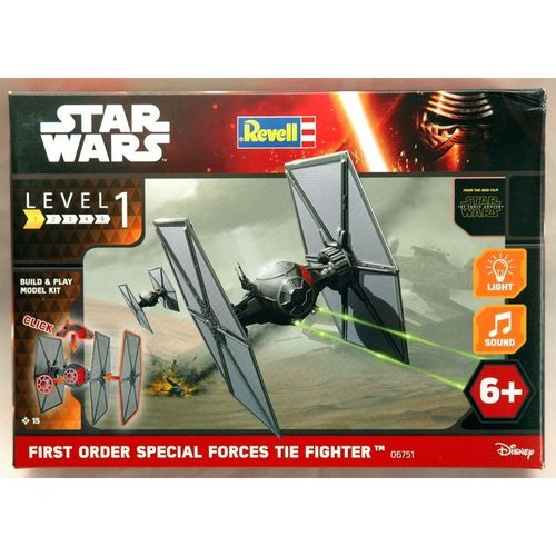 StarWars Build n Play  First Order Special Forces TIE Fighter  1/78