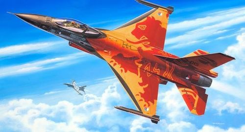 "F-16 Mlu ""Solo Display"" 1/72"