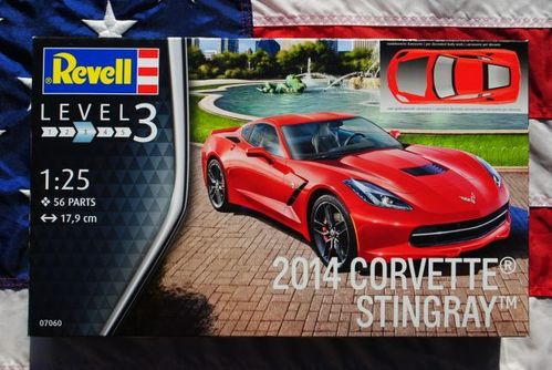 2014 Corvette Stingray 1/25