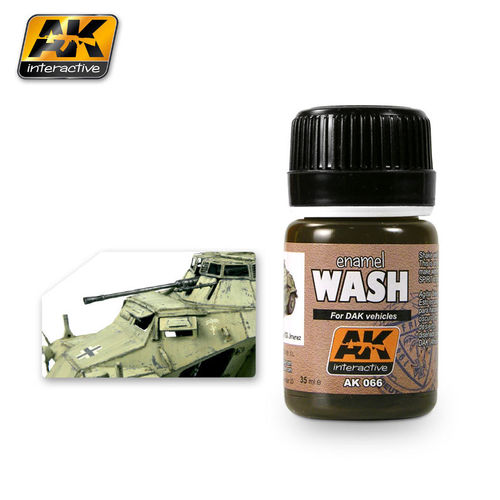 Wash for Africa Korps Vehicles