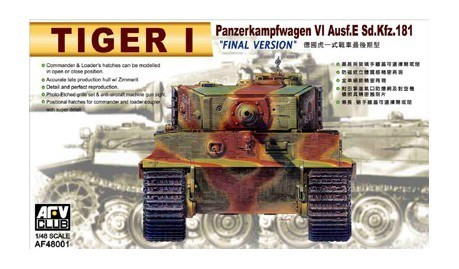 Tiger I late version 1/48