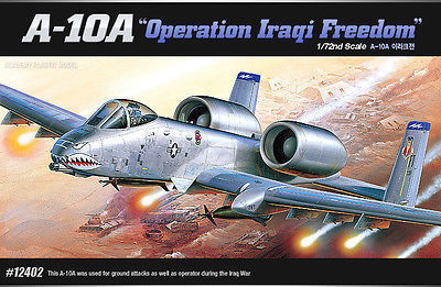 "A-10A ""OPERATION IRAQI FREEDOM""  1/72"