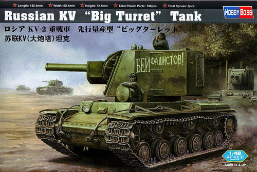 KV BIG TURRET 1/48