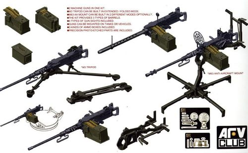 U.S. M2HB .50 cal Machine Gun set