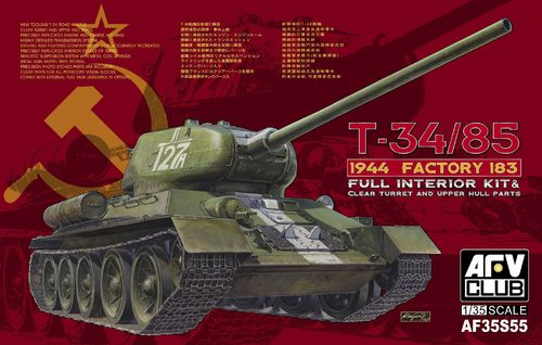 T-34/85 183 Factory with transparent turret