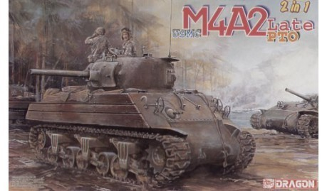 USMC M4A2(W) Late Production PTO   1/35