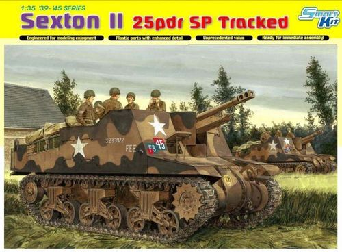 Sexton II 25pdr SP Tracked  1/35