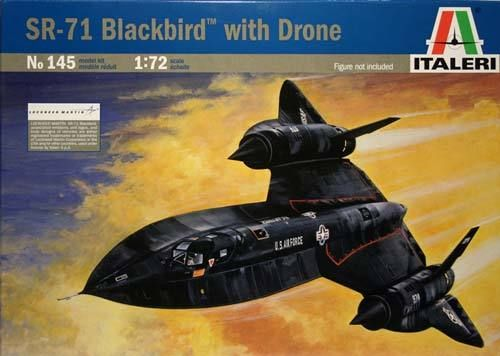 SR-71 BLACKBIRD with DRONE