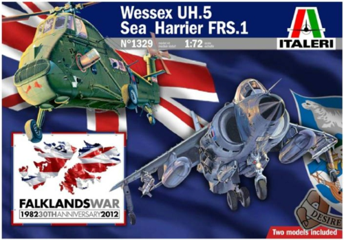 Wessex UH.5 / Sea Harrier FRS.1 Falkland war 30th anniversary   1/72