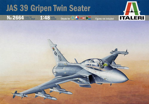 JAS 39 GRIPEN TWIN SEATER   1/48