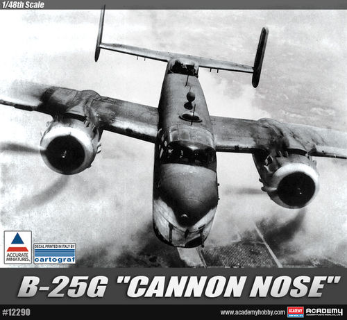 "B-25G ""CANNON NOSE""  1/48"