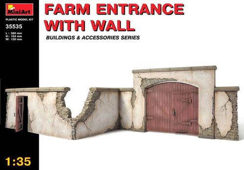 Farm Entry with wall