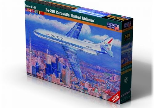 Se-210 United Airlines  1/144