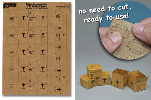 WWII US Medical Boxes