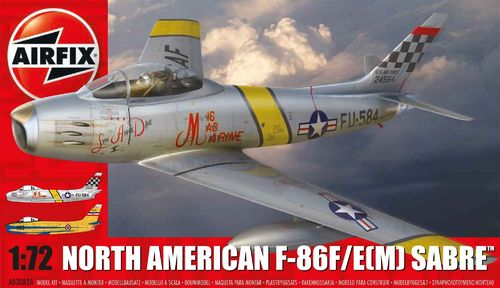 North American F-86F Sabre   1/72