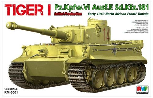 Tiger I Initial Production Early 1943   1/35