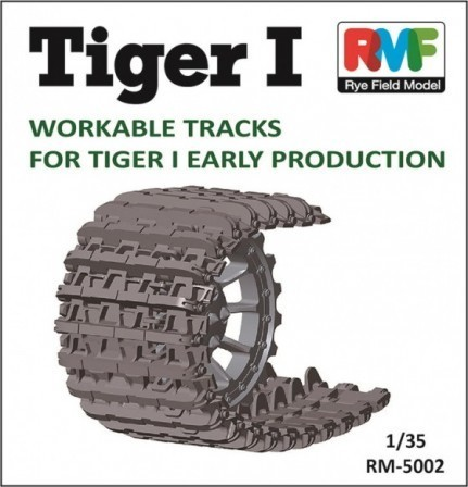 Tiger I Workable Tracks for Tiger I   1/35