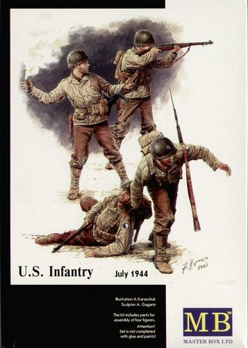 US INFANTRY JULY '44 1/35