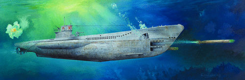 German Type VIIC U-Boat U-552    1/48