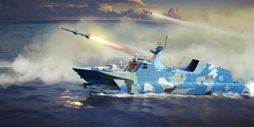 PLA Navy Type 22 Missile Boat  1/144