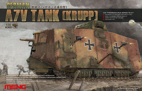 German A7V Tank (Krupp)  1/35