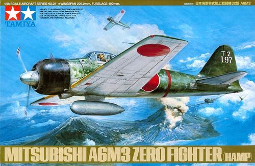 A6M3 Type 32 Zero Fighter (Hamp)  1/48