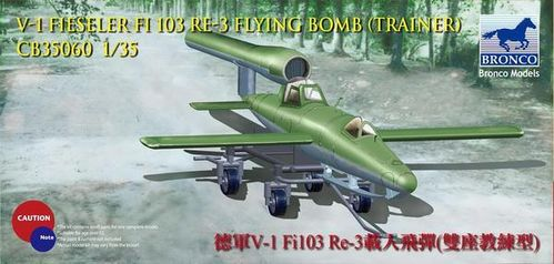 V-1 Fi103 Re 3 Piloted Flying Bomb (Two Seats Trainer)  1/35