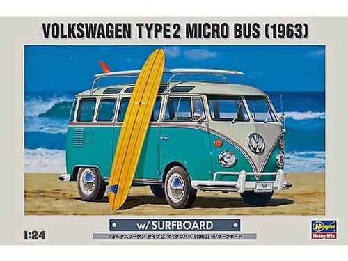 Volkswagen Microbus '63 + surfboard Limited Edition