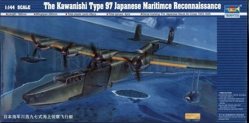 Kawanishi H6K5 Type 97 Mavis Flying Boat  1/144