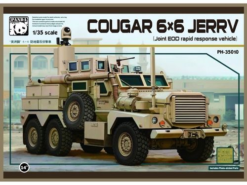 6X6 COUGAR JERRV WHICH STANDS FOR A JOINT EOD RAPID 1/35