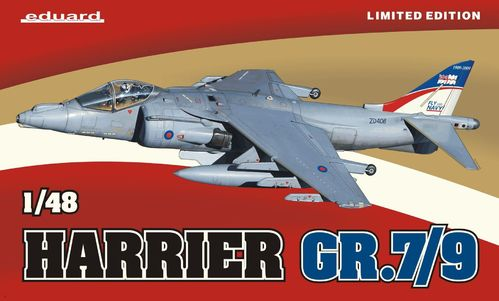 Harrier GR.7/9 Limited Edition 1/48