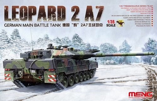 German Main Battle Tank Leopard 2 A7  1/35