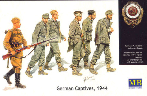 GERMAN CAPTIVES '44 1/35