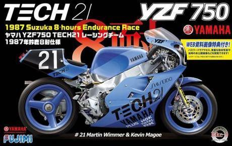 YAMAHA YZF750 TECH21   1/12