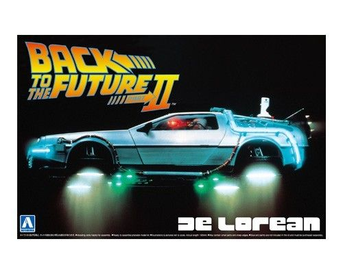 DELOREAN DMC BACK TO THE FUTURE 2