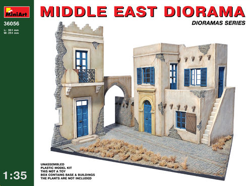 MIDDLE EAST DIORAMA  1/35