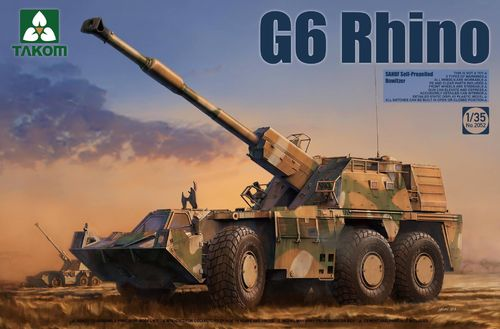 G6 Rhino SANDF Self-Propelled Howitzer 1/35