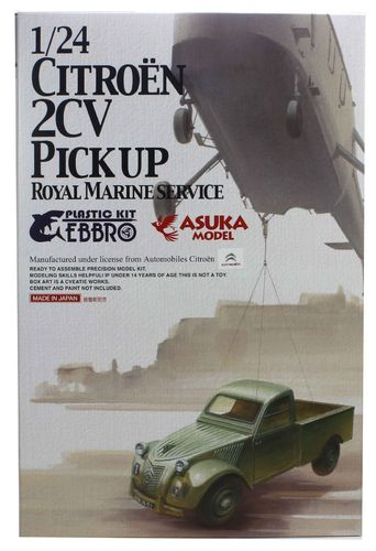 Citroen 2CV Transporter Royal Marines  1/24