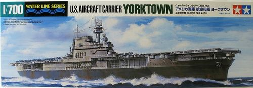U.S. Aircraft Carrier Yorktown (CV-5) 1/700 Water Line Series